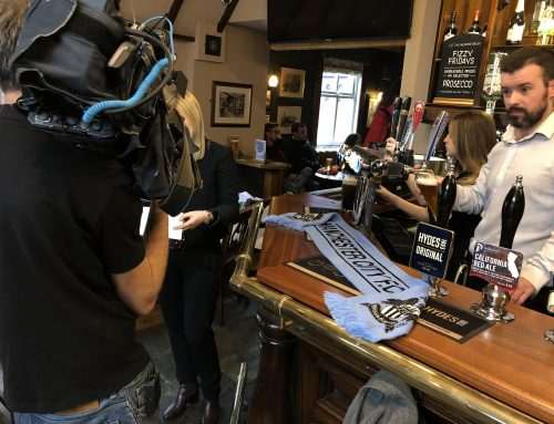 Granada reports interview Didsbury Blues at the Fletcher Moss Pub